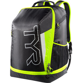 TYR Triathlon Backpack Black/Flou Yellow